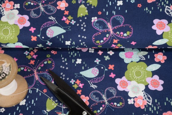 3 wishes fabric Hello spring Garden
