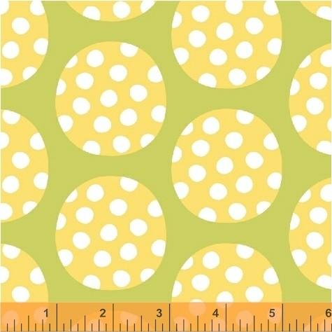 Windham Fabrics • Precious • LG Polka Dots green Baumwollstoff