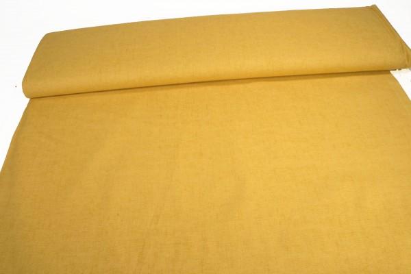 Baumwollstoff Druck gelb