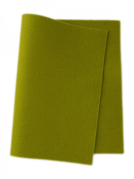 Wollfilz frühlingsgrün • 100 % reine Wolle