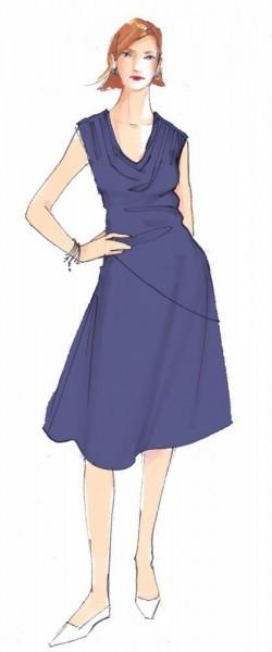 Sommerkleid Quila • Damen • Papierschnittmuster