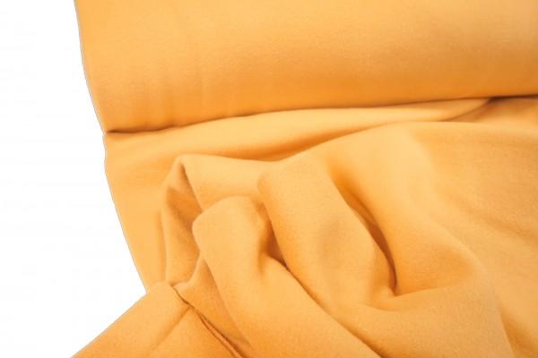 BIO Baumwollfleece gelb