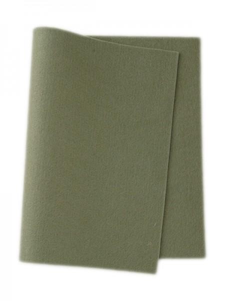 Wollfilz graugrün • 100 % reine Wolle
