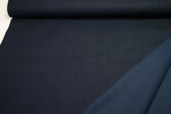 Baumwoll-Twill querelastisch dunkelblau