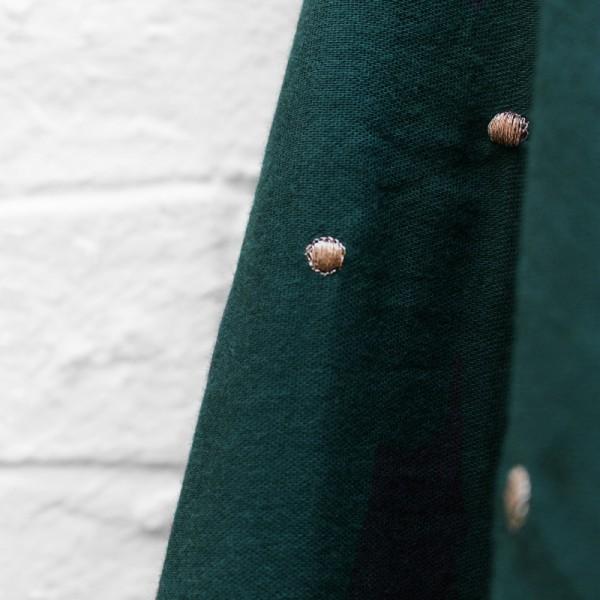 Baumwoll Double Gauze • Musselin • Stardust Forest • Atelier Brunette