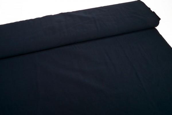 Viskose Webstoff Stone washed nachtblau