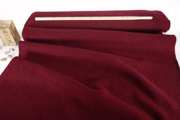 Gekochte Wolle Walkloden kardinalrot
