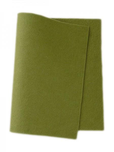 Wollfilz grün • 100 % reine Wolle