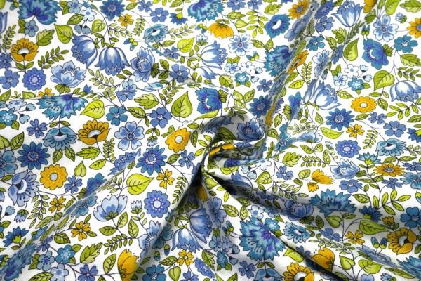 makower Bloom Chintz Blue 2031 B