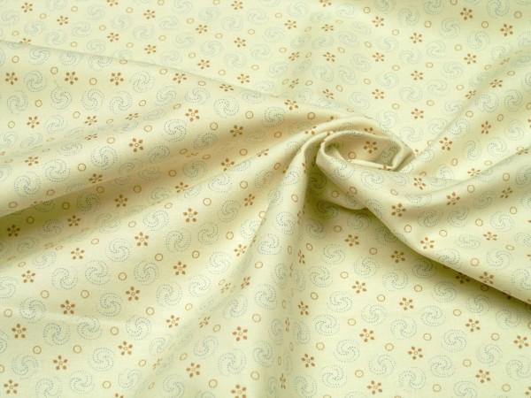 Moda Fabrics Grand Traverse Bay 14825-11 Ivory Jing Jang Baumwoll Stoff