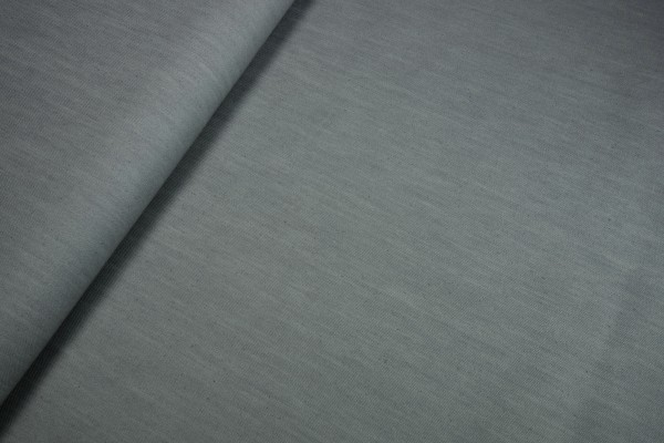 Jeansstoff elastisch uni grau