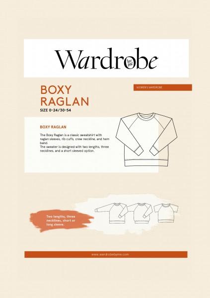 Boxy Raglan Sweater,Papierschnitt,Wardrobe by me,Deckblatt