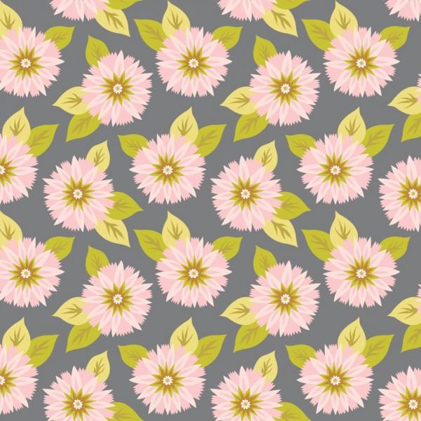 Blend Fabrics • Pippa • Sunburst grau