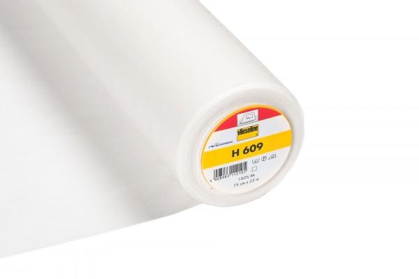 Vlieseline H 609 • Bügeleinlage bi-elastisch • weiß