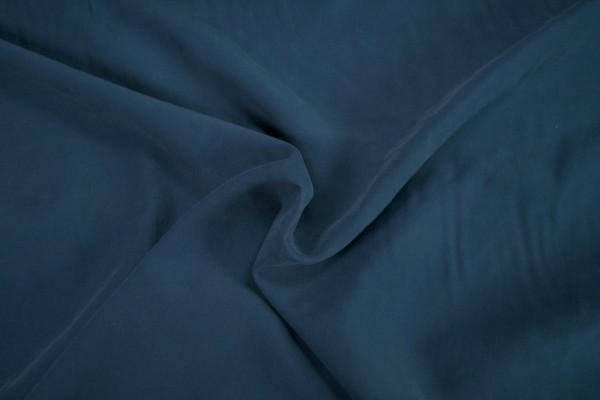 Viskose Webstoff Stone washed preußisch blau