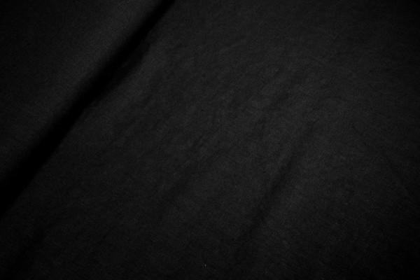Reines Leinen • uni • schwarz • vorgewaschen