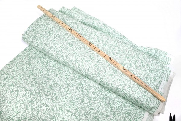 Cotton and Steel Rifle Paper Co. Tapestry Lace RP500-SA1 Sage Fabric